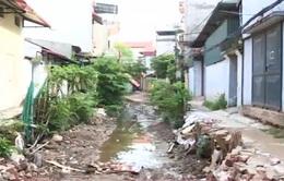 Hà Nội: Đường hơn 1km, thi công 3 năm chưa xong