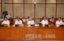 Bộ Chính trị làm việc với Đảng ủy Công an Trung ương