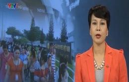 Hơn 70.000 công nhân Công ty Pou Yuen đã trở lại làm việc