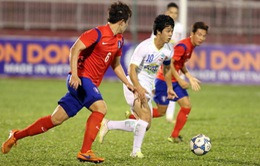 U21 Hoàng Anh Gia Lai tập nhẹ trước trận chung kết gặp U19 Hàn Quốc