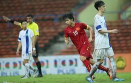 Công Phượng lập hat-trick ấn định chiến thắng 7 sao trước O.Macau