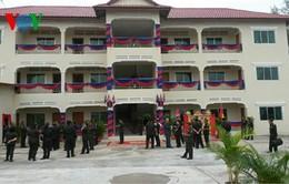 Campuchia khánh thành 2 công trình quân sự do Việt Nam viện trợ