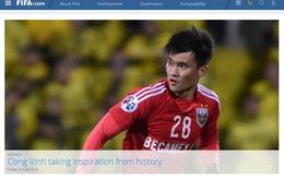 Công Vinh bất ngờ lên trang chủ của FIFA