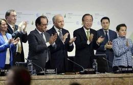 Thỏa thuận tại Hội nghị COP21 -  Cuộc cách mạng về biến đổi khí hậu
