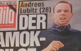 Lufthansa biết rõ bệnh tình của cơ phó Andreas Lubitz