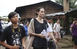 Con trai người Việt của Angelina Jolie lo lắng khi gặp lãnh đạo đảng đối lập Myanmar