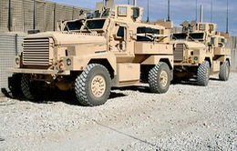 Mỹ viện trợ 250 xe bọc thép chống mìn cho quân đội Iraq