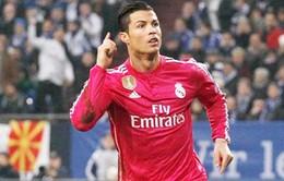 Ronaldo lọt vào tốp ba chân sút vĩ đại nhất Real Madrid