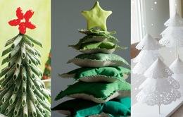 """Những ý tưởng sáng tạo cây thông Noel """"độc nhất vô nhị"""""""