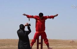 IS tung video hành quyếtmột tù nhân bị nghi là gián điệp
