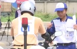 Đào tạo kỹ năng lái xe phân khối lớn cho cảnh sát giao thông