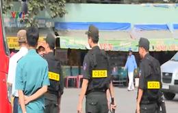 TP. HCM triển khai cảnh sát cơ động trấn áp cướp giật, móc túi tại bến xe