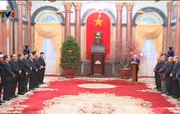 Tổng Bí thư chúc Tết lãnh đạo Đảng, Nhà nước