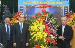 Lãnh đạo Đảng, Nhà nước và MTTQ chúc mừng đồng bào công giáo cả nước