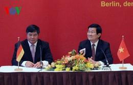 Chủ tịch nước gặp mặt kiều bào Việt Nam tại Đức