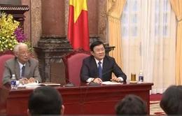 Chủ tịch nước gặp mặt đại diện tiêu biểu Hiệp hội DN nhỏ và vừa