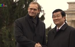 Chủ tịch nước gặp Thị trưởng thành phố Berlin, Đức