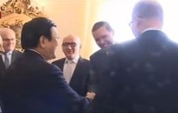 Chủ tịch nước hội kiến Thủ tướng Czech