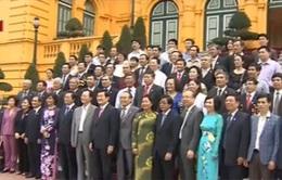 Chủ tịch nước gặp mặt đoàn đại biểu luật gia tiêu biểu toàn quốc