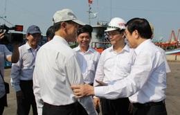 Chủ tịch nước thăm và làm việc tại Bà Rịa-Vũng Tàu