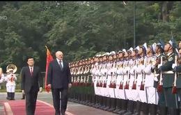 Tổng thống Cộng hòa Belarus thăm cấp Nhà nước đến Việt Nam