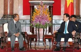 Chủ tịch nước tiếp Bộ trưởng Tư pháp Lào