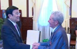 Chủ tịch nước gặp gỡ cựu chuyên gia quân sự Kazakhastan