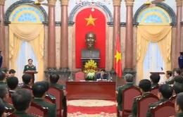 Chủ tịch nước tiếp đại biểu dự Đại hội Thi đua Quyết thắng toàn dân