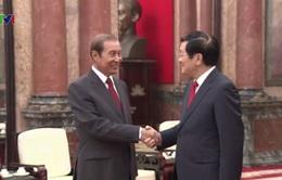 Chủ tịch nước tiếp Chủ nhiệm Văn phòng Chủ tịch nước Lào