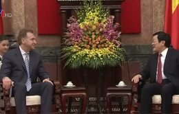 Chủ tịch nước tiếp Phó Thủ tướng thứ nhất LB Nga