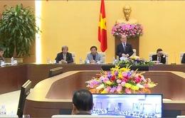 Chủ tịch Quốc hội Nguyễn Sinh Hùng gặp mặt các nhà báo ASEAN