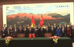 Ký kết hợp tác Quốc hội Việt Nam - Trung Quốc