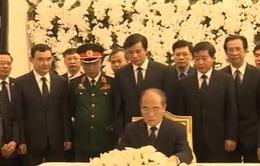 Đoàn đại biểu Đảng, Nhà nước Việt Nam viếng Samdech Chea Sim