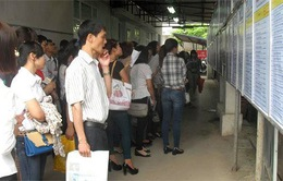 17,4% người thất nghiệp có trình độ đại học