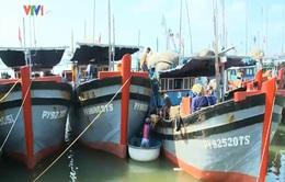 Phú Yên: Cửa biển bị bồi lấp, hàng trăm tàu cá mắc kẹt
