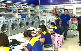 Làm giàu từ việc nhượng quyền cửa hàng giặt là
