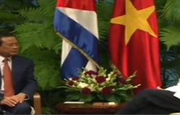 Chủ tịch Cuba tiếp đoàn đại biểu Đảng Cộng sản Việt Nam