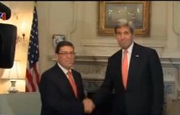 Hội đàm lịch sử giữa Bộ trưởng Ngoại giao Mỹ - Cuba