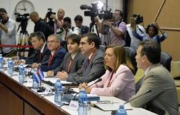 Có tín hiệu khả quan sau hai ngày đàm phán giữa Mỹ và Cuba
