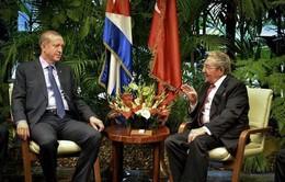 Chủ tịch Cuba hội đàm với Tổng thống Thổ Nhĩ Kỳ