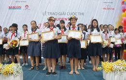 28 học sinh đoạt giải thưởng 'Prudential - Văn hay chữ tốt' lần thứ 16