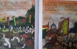 """Cuốn sách """"Trưng Nữ Vương khởi nghĩa Mê Linh"""" bị ngừng xuất bản"""
