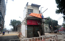 Hà Nội: Cưỡng chế ngôi nhà làm tắc tuyến đường Kim Mã - Trần Phú