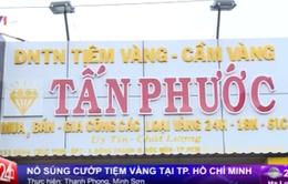 Táo tợn nổ súng cướp tiệm vàng tại TP.HCM