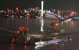 21 người thiệt mạng trong vụ máy bay rơi ở Đài Loan