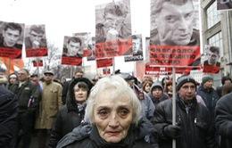 Nga: Hàng nghìn người tuần hành tưởng nhớ cựu Phó Thủ tướng Nemtsov