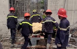 Sập giàn giáo ở TP.HCM: Khẩn trương tìm nạn nhân mất tích