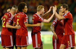 """Bóng đá Bỉ lên đỉnh thế giới - thành quả sau 15 năm """"xây nhà từ móng"""""""