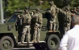 Tìm thấy vật thể nghi là chất nổ tại hiện trường vụ xả súng tại Mỹ