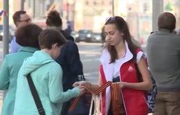 Giới trẻ Nga với phong trào Dải băng chiến thắng